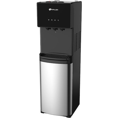 Best Bottom Load Self-Cleaning Water Dispensers: 3. Avalon Bottom Loading Water Cooler Water Dispenser - 3 Temperature Settings - Hot, Cold & Room Water, Durable Stainless Steel Cabinet, Bottom Loading - UL/Energy Star Approved