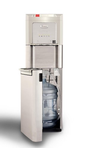 Best Bottom Load Self-Cleaning Water Dispensers: 5. Whirlpool Self Cleaning, Bottom Loading Commercial Water Cooler with LED Indicators, Ice Chilled Water, Steaming Hot, Total Stainless Steel Water Dispenser