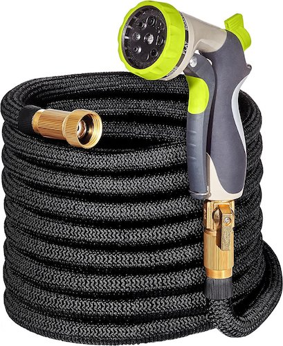 8. 50ft Garden Hose - ALL NEW Expandable Water Hose with Double Latex Core, 3/4