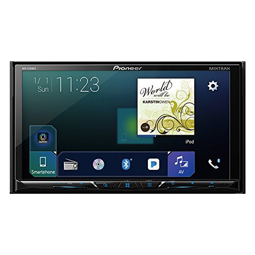 3. Pioneer AVH-2300NEX Multimedia DVD Receiver with 7