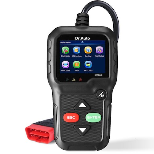 2. OBD2 OBD Scanner Professional Diagnostic Car Scanner Tool and Car Code Reader, One Click Check Engine Light Reset, Fix Car Problems Effortlessly! Read and Clear Trouble Codes for All Cars and Trucks!