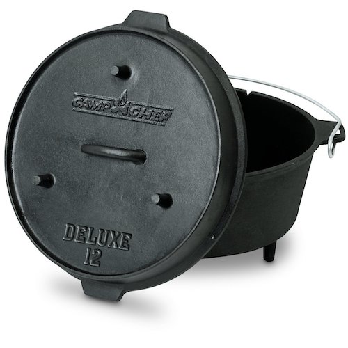 7. Camp Chef Deluxe 9 1/3-Quart Dutch Oven