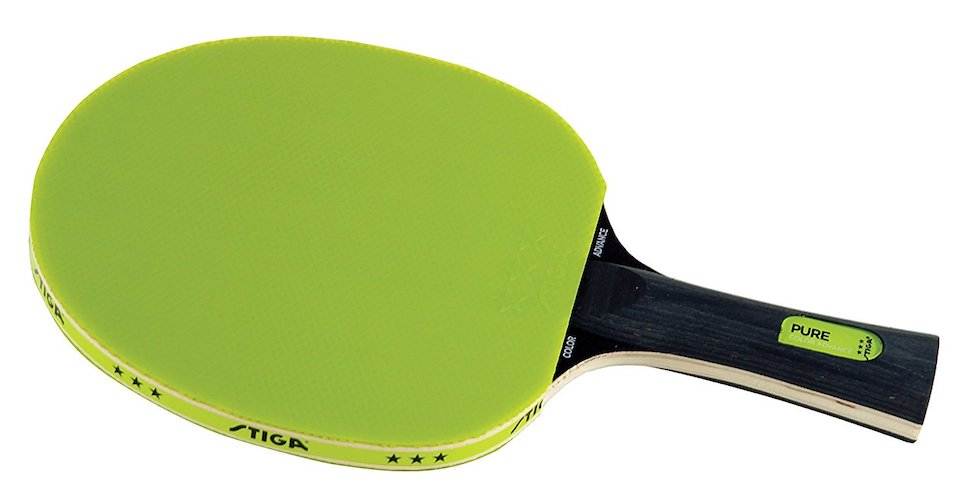6. STIGA Pure Color Advance Table Tennis Racket