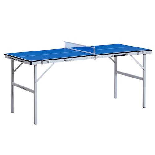 3. Harvil 60-Inch Folding Portable Table Tennis Table with FREE Accessories