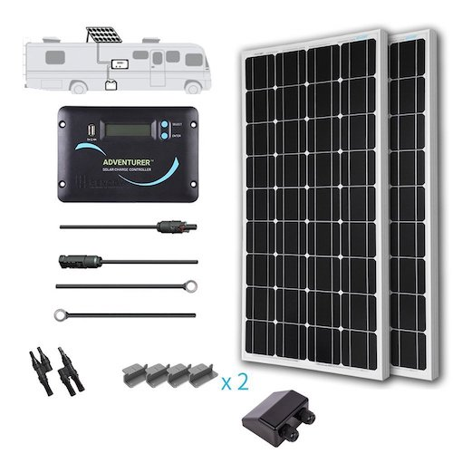 Top 10 Best Solar Panels for RV In 2018 Reviews