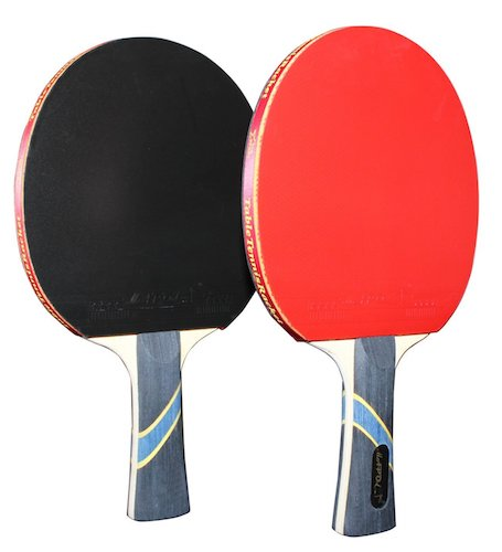 3. MAPOL 4 Star Professional Ping Pong Paddle Advanced Training Table Tennis Racket with carrying Case (2PCS)