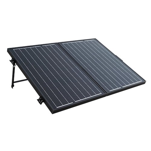 9. ECO-WORTHY 120 Watt 12Volt Off Grid Monocrystalline Portable Foldable Solar Panel Suitcase with Charge Controller