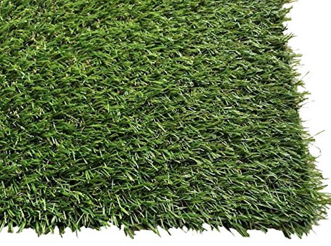 10. Pet Zen Garden 1-inch Artificial Grass Patch w/ Drainage Holes & Rubber Backing | 4-Tone Realistic Synthetic Grass Mat | Extra-Heavy & Soft Pet Turf | Lead-Free Fake Grass for Dogs or Outdoor Decor