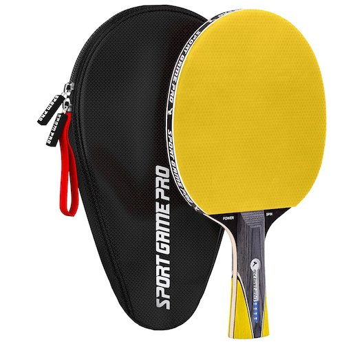 9. Ping Pong Paddle JT-700 with Killer Spin + Case for Free
