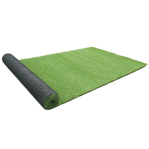 8. RURALITY Artificial Grass Turf Fake Grass for Patio, Yard and Balcony Decoration (6 Ft X 9 Ft)