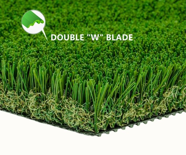 4. MTBRO Artificial Grass Rug, Realistic Artificial Turf, Indoor/Outdoor Grass Rug, Dog Grass Mat, Blade Height 1.5