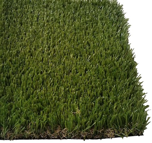 7. Pet Zen Garden Premium Deluxe Artificial Grass Patch w/ Drainage Holes & Rubber Backing | 4-Tone Realistic Synthetic Grass Mat | 1.6-inch Blade Height |Extra-Heavy & Soft Pet Turf | Lead-Free Fake Grass for Dogs or Outdoor Décor