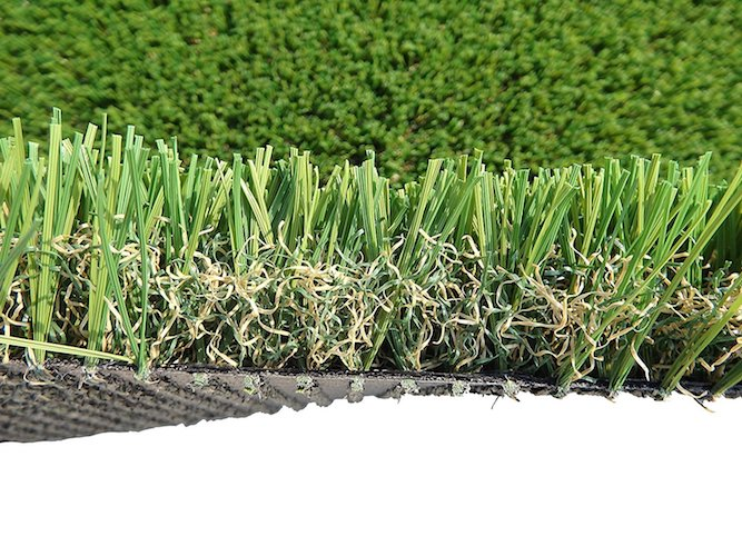 2. PZG Commercial Artificial Grass Patch w/ Drainage Holes & Rubber Backing | Extra-Heavy & Durable Turf | Lead-Free Fake Grass for Dogs or Outdoor Decor | Total Wt. - 103 oz & Face Wt. 75 oz | 5' x 3'