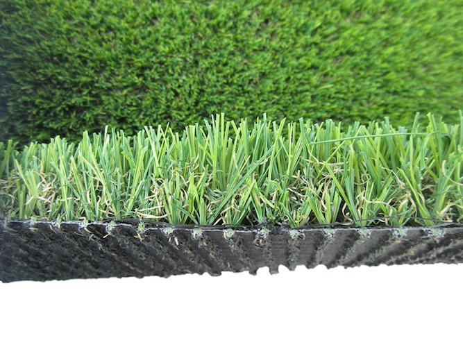10. PZG Commerical Artificial Grass Patch w/ Drainage Holes & Rubber Backing | Extra-Heavy & Durable Turf