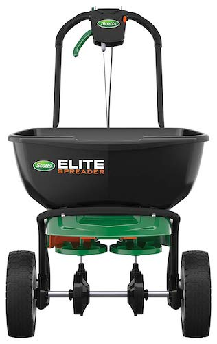 2. Scotts Elite Broadcast Spreader with EdgeGuard