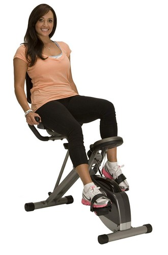 Best Upright Exercise Bikes 4. Exerpeutic 400XL Folding Recumbent Bike