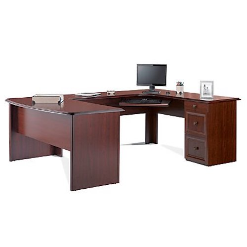2. Realspace Broadstreet Executive U-shaped Office Desk -