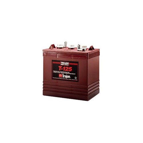Best 6v Golf Cart Batteries 4. Trojan T-125 6V 240Ah Flooded Lead Acid GC2 Deep Cycle Battery FAST USA SHIP