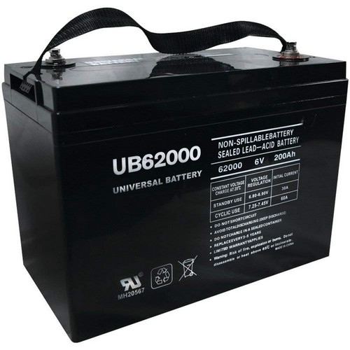 Best 6v Golf Cart Batteries 5. Universal Power Group UB62000 6V 200AH Battery for Champion M83CHP06V27 Golf Cart RV Boat