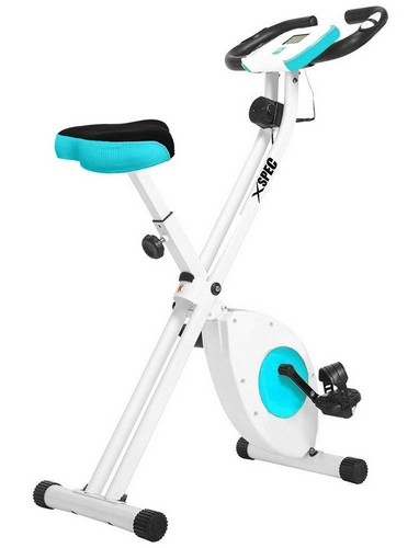 Best Upright Exercise Bikes 5. Xspec Foldable Stationary Upright Exercise Bike Cardio Workout Indoor Cycling