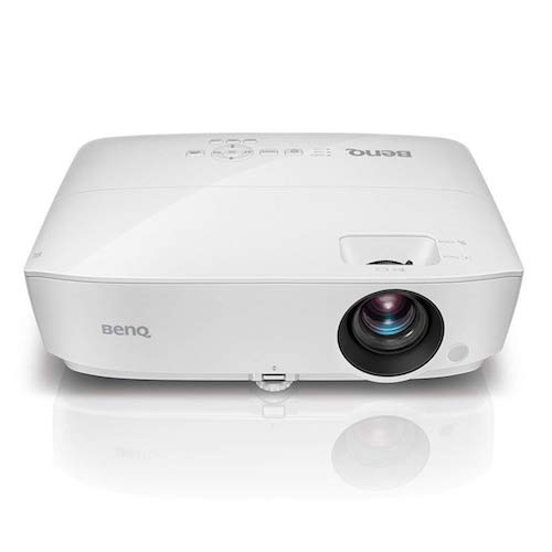 1. BenQ WXGA Business Projector (MW526AE), DLP, 3300 Lumens, 15,000:1 Contrast, Dual HDMI, 10,000hrs Lamp Life, 71
