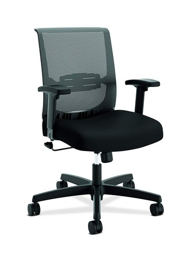 Best Ergonomic Office Chairs with Headrest 4. HON The Company HONCMS1AACCF10 Convergence Task Chair