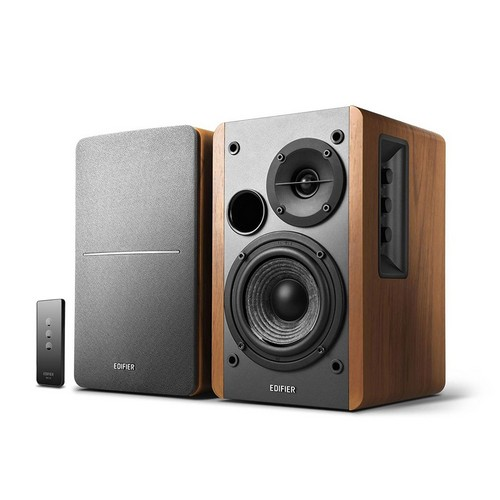 Best Bookshelf Speakers under 100 3. Edifier R1280T Powered Bookshelf Speakers, 2.0 Active Monitor System