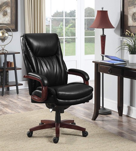 Best Ergonomic Office Chairs with Headrest 9. La Z Boy LaZBoy 45764A Edmonton Chair Big/Tall Executive Office Chair
