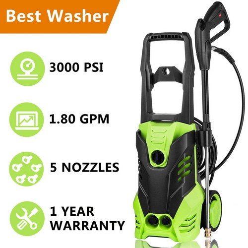 Top 10 Best Electric Pressure Washers Under 200 in 2019