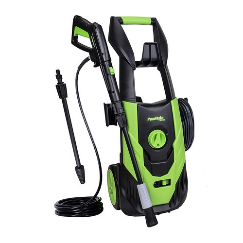 Best Electric Pressure Washers Under 200 9. PowRyte Elite 2100 PSI 1.8 GPM Electric Pressure Washer, Power Washer with Adjustable Spray Nozzle, Extra Turbo Nozzle, Onboard Detergent Tank