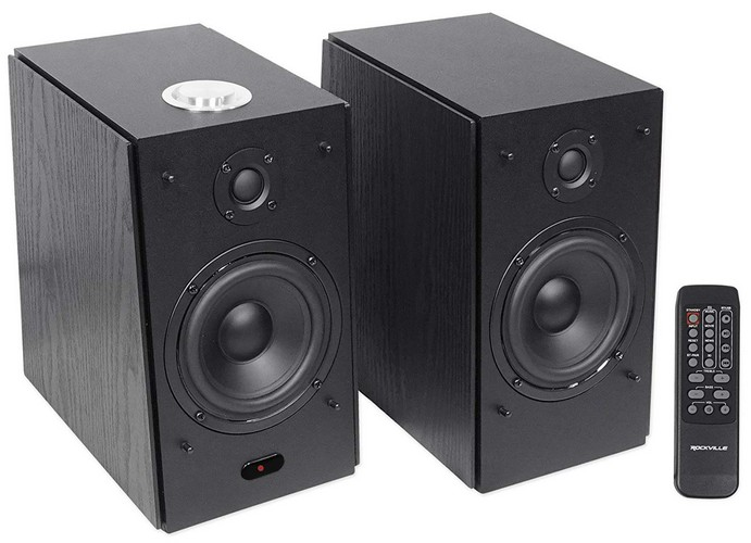 Best Bookshelf Speakers under 100 9. (2) Rockville HD5B 5