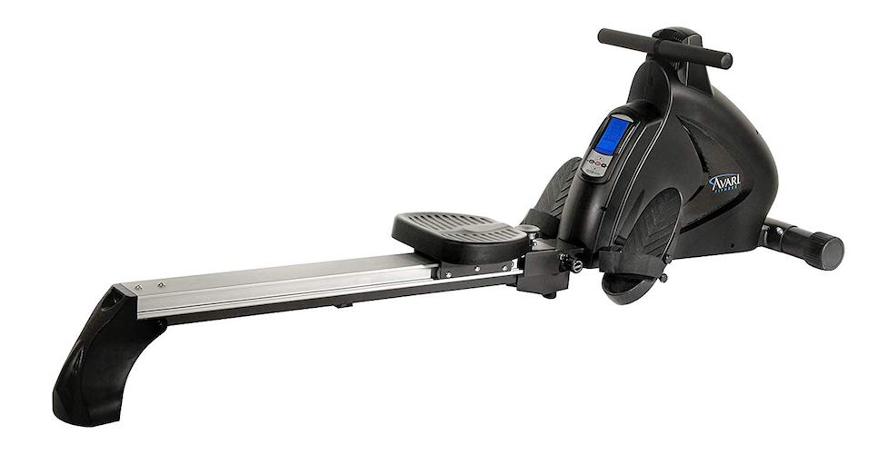 4. Stamina Avari Programmable Magnetic Exercise Rower
