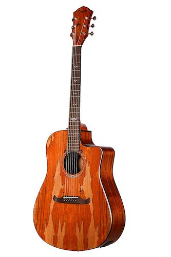 7. Fender T-Bucket 400CE Spalted Maple FSR Acoustic Electric Guitar