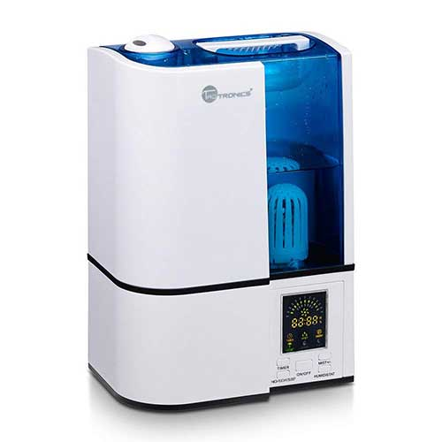 Best Humidifiers for Babies 3. TaoTronics Cool Mist Humidifier, LED Display, 4L Ultrasonic Humidifiers for Home Bedroom