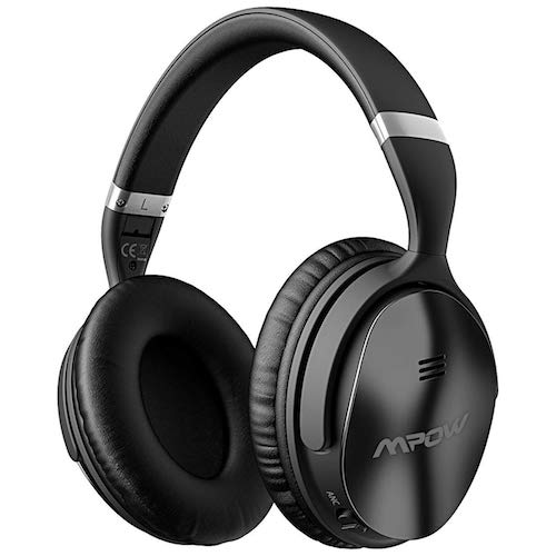 2. Mpow H5 Active Noise Cancelling Headphones