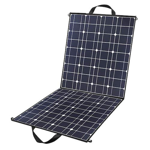 6. 100 Watts 12 Volts Portable Solar Panel Kit Charger Foldable Flexible Monocrystalline Solar Charger