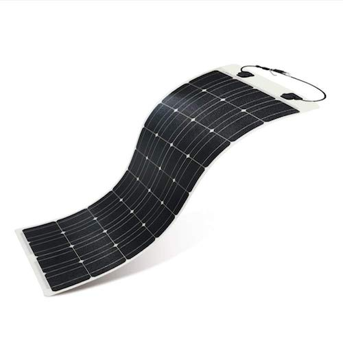 1. Renogy 100 Watt 12 Volt Extremely Flexible Monocrystalline Solar Panel