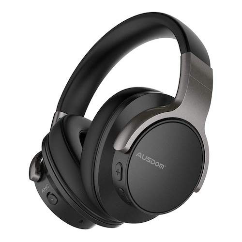 3. AUSDOM ANC8 Active Noise Cancelling Bluetooth Headphones