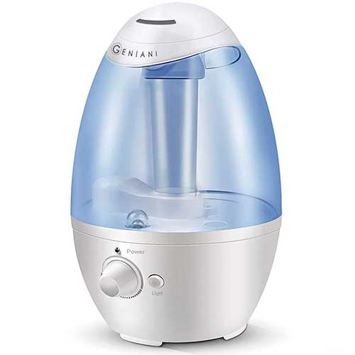 Best Humidifiers for Babies 8. Ultrasonic Cool Mist Humidifier - Best Air Humidifiers for Bedroom / Living Room / Baby