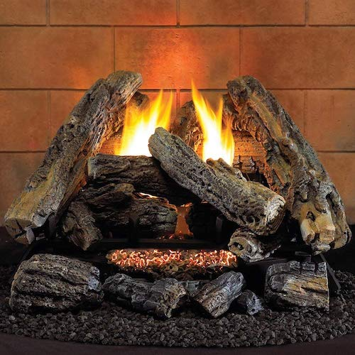 2. Hearth Sense VF18NA Vent-Free Gas Log Set