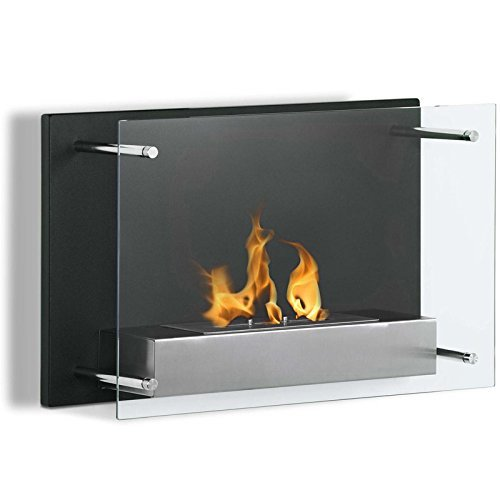 4. Regal Flame Milan 24 Inch Ventless Wall Mounted Bio Ethanol Fireplace