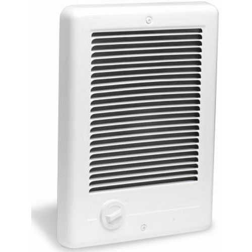 Best Electric Garage Heaters with Wall Thermostat 9. Cadet CSC152TW Com-Pak 1500-Watt, 240V complete wall heater with thermostat, white