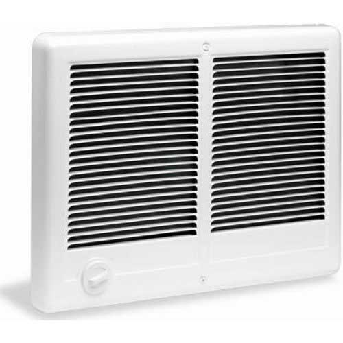 Best Electric Garage Heaters with Wall Thermostat 2. Cadet Com-Pak Twin 4000W, 240V Most Popular Large Room Electric Wall Heater with Thermostat, White