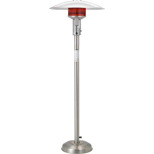 Best Natural Gas Patio Heaters 8. Sunglo A242SS Stainless Steel Portable Natural Gas Outdoor Patio Heater