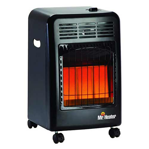 Best Portable Kerosene Heaters 6. Mr. Heater MH18CH Radiant Cabinet LP Heater