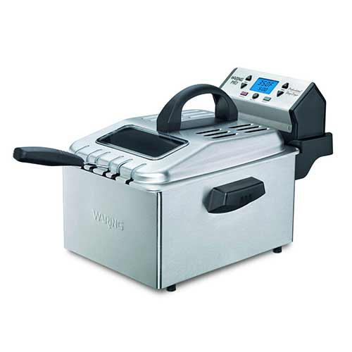 Best Commercial Deep Fryers 7. Waring Pro DF280 Professional Deep Fryer