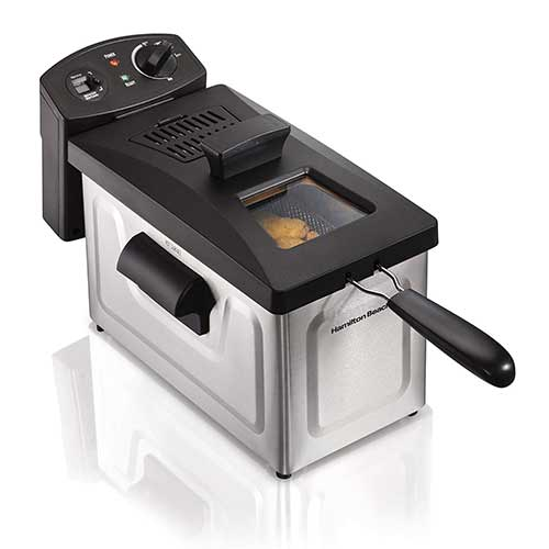 Best Commercial Deep Fryers 1. Hamilton Beach (35033) Deep Fryer