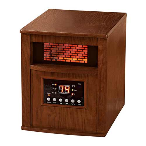 Best Space Heaters for Large Room with High Ceilings 6. Premium Heater Cabinet