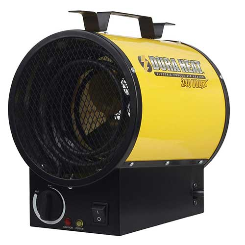 Best Portable Kerosene Heaters 10. Dura Heat 4000W Electric Forced Air Heater