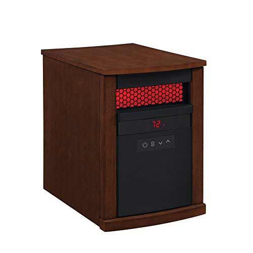 Best Space Heaters for Large Room with High Ceilings 3. Duraflame 5,200-BTU Infrared Quartz Cabinet Electric Space Heater